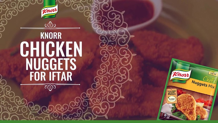 Knorr Chicken Nuggets For Iftar
