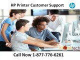 Grab Online Aid through HP Printer Customer Support Number 1-877-776-6261