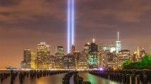 Les tours jumelles du World Trade Center ont été ressuscitées le temps d'un hommage