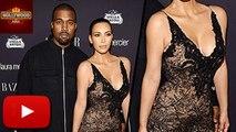 Kim Kardashian & Kanye West At Harper's Bazaar Party | Video | Hollywood Asia