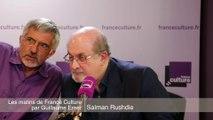 """Salman Rushdie : """"Il faut se moquer de la religion, car la religion est absurde avant tout"""""""