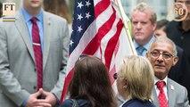 FirstFT — Hillary Clinton has pneumonia, Syrian rebels warned
