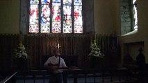 Galway's Amon Folan Singing Seven Spanish Angels In St Nicholas Collegiate Church