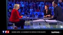 Présidentielles 2017 : Marine Le Pen se défend d'être raciste (vidéo)