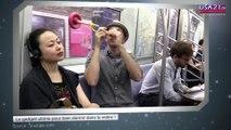 Le gadget ultime pour bien dormir dans le métro