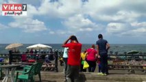 قلعة قايتباى مقصد محدودى الدخل فى أول أيام عيد الأضحى المبارك
