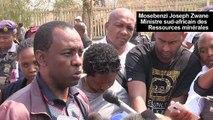AfSud: l'opération de secours des mineurs sous terre interrompue