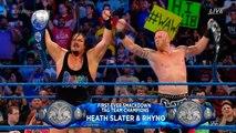WWE Backlash 2016 Rhyno and Heath Slater vs The Usos 720p HD