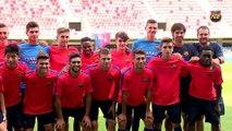FCB Masia: Gabri, prèvia FCB Juvenil-Celtic [ESP]