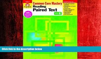 Choose Book Reading Paired Text, Grade 4 (Reading Paired Text: Common Core Mastery)