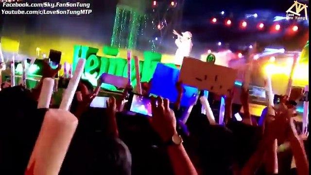 Khán giả hô vang 'Tha thu' khi Sơn Tùng xuất hiện trên sân khấu