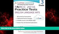 Online eBook Common Core Assessments and Online Workbooks: Grade 3 Language Arts and Literacy,
