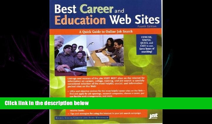 different   Best Career and Education Web Sites: A Quick Guide to Online Job Search (Best