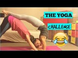 Hilarious Yoga Challenge Ends in Bumps and Bruises