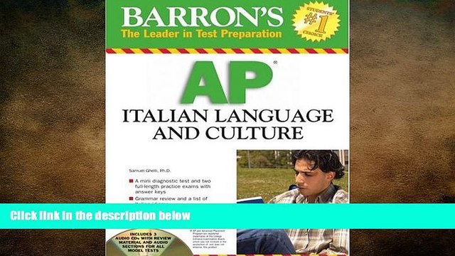 different   Barron s AP Italian Language and Culture: with Audio CDs