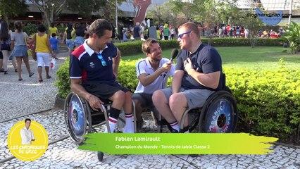 Chronique de Gregory Cuilleron - 12 septembre 2016 - Jeux Paralympiques Rio 2016