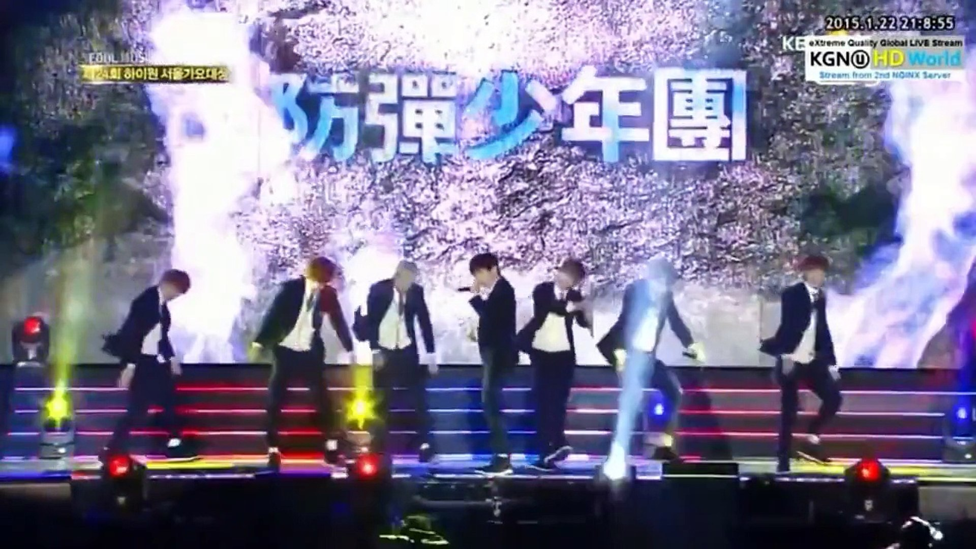 150122 BTS Boy In Luv The 24th Seoul Music Awards