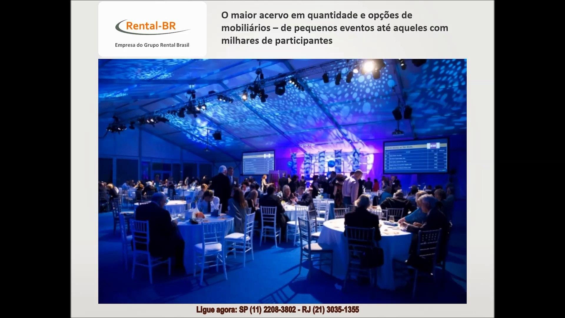 Aluguel de Mesas e Cadeiras em São Paulo SP - RentalBR