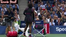 Serena Williams vs Simona Halep US OPEN QF