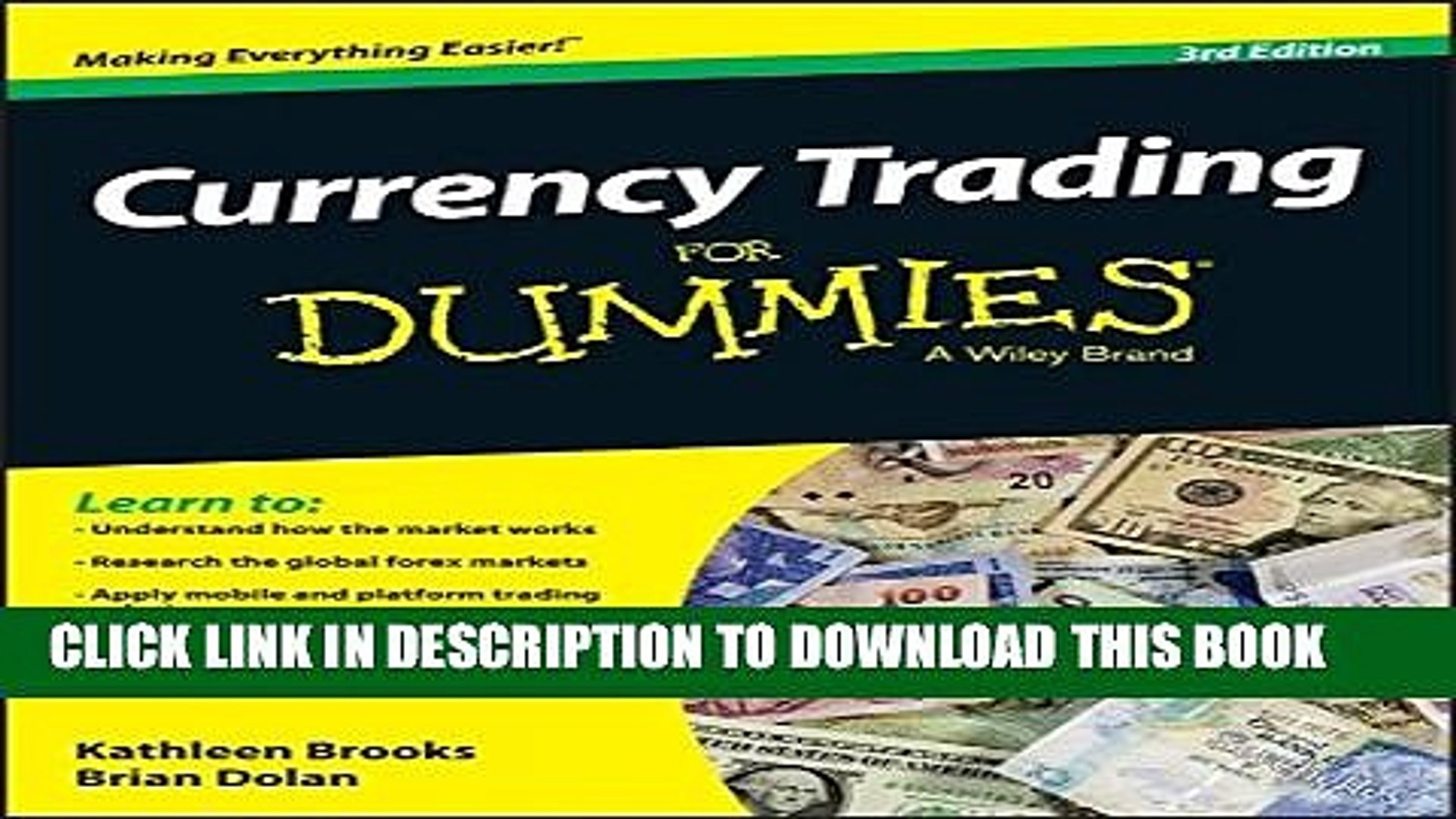 Pdf Currency Trading For Dummies Full