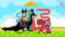 #Masha And The Bear #PJ #Masks #Catboy #Gekko #Owlette in #Pirson #Parody NEW