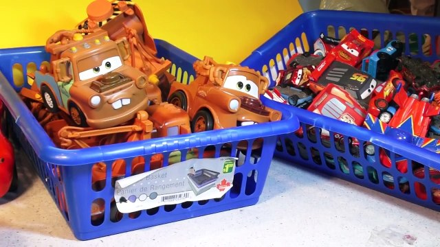 The Best Lightning McQueen and Mater Pyramid made from our Collection of McQueen Cars and Tow Mater