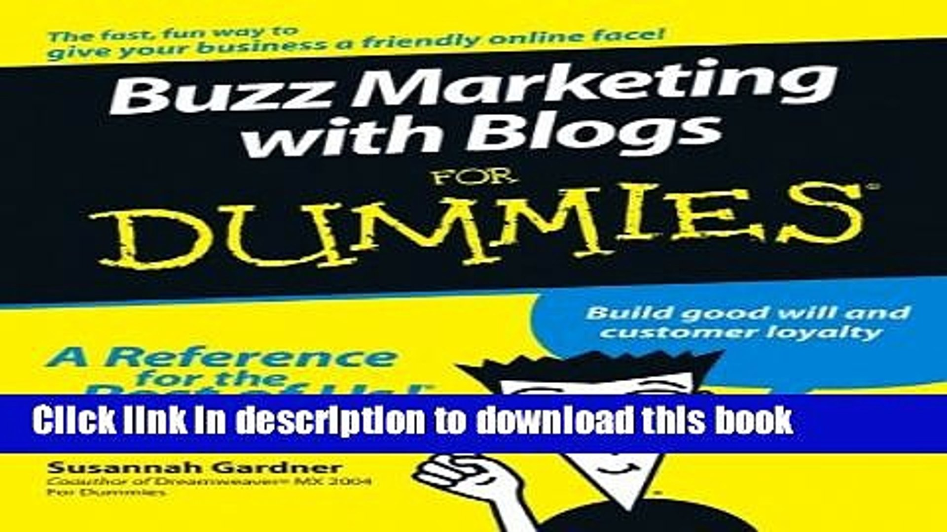 Read Buzz Marketing with Blogs For Dummies  PDF Online