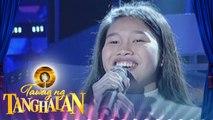 Tawag ng Tanghalan: Francy Sonza | Counting Stars