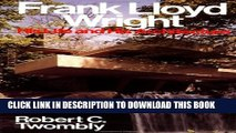 [PDF] Frank Lloyd Wright: His Life and His Architecture Popular Online