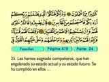 48. Fossilat 1-46 - El Sagrado Coran