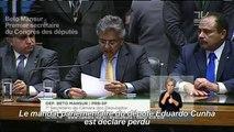 Brésil: celui qui a fait chuter Rousseff chute à son tour
