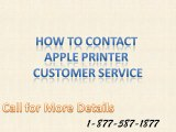 How to contact apple printer customer service |Phone Number 1-877-587-1877