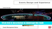 PDF Events Design and Experience (Events Management)  PDF Online