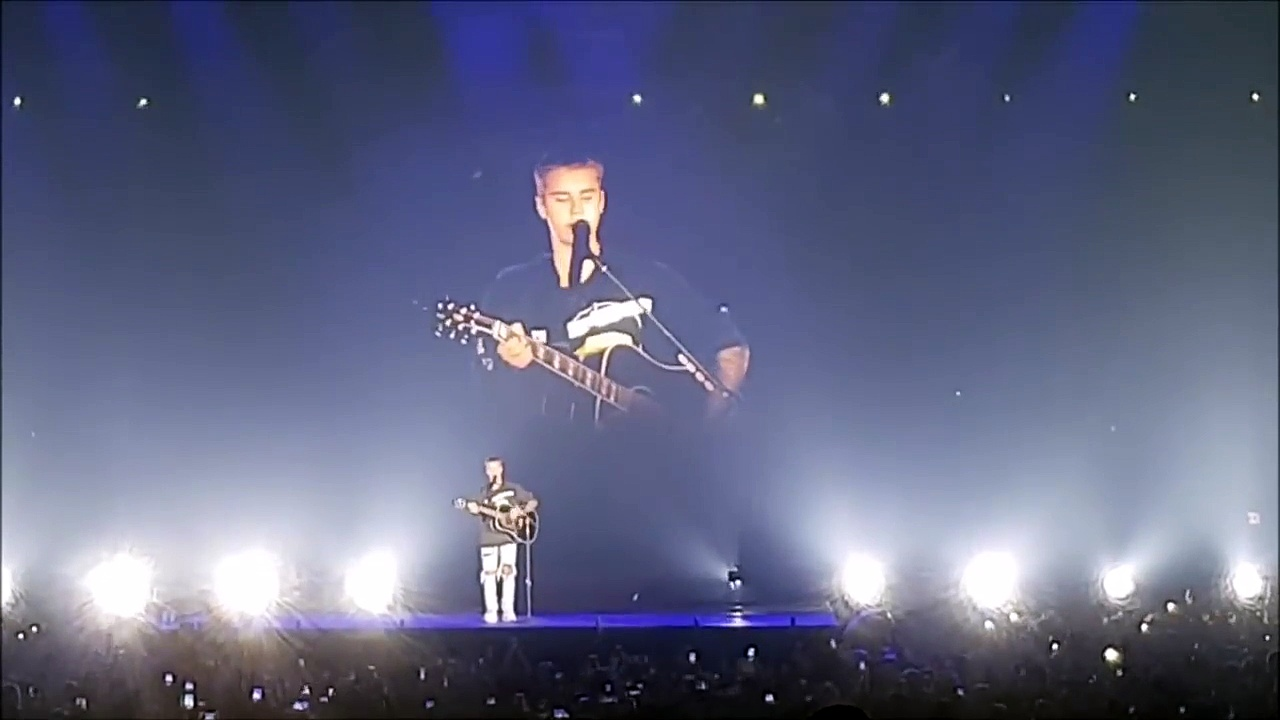 Justin Bieber live in Iceland - COLD WATER - New performance Purpose Tour in 08 Sep 2016