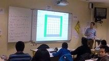 Calcul litteral carrés bordés : Echanges avec Anne Burban, Geoffroy Laboudigue
