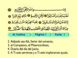 01. Al Fatiha 1-7 - El Sagrado Coran (Árabe)