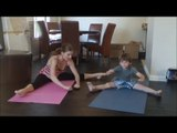 Gymnastics Lesson For Your Child With Coach Meggin At Home! (Professional Gymnastics Coach) !