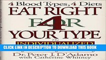 [PDF] Eat Right for Your Type Live Right for Your Type (4 blood types, 4 diets 4 blood types, 4