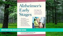 Big Deals  Alzheimer s Early Stages: First Steps for Family, Friends, and Caregivers  Best Seller