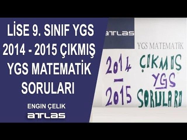 2014 2015 ÇIKMIŞ YGS MATEMATİK SORULARI