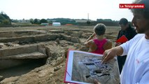Dinan. Une somptueuse villa gallo-romaine découverte