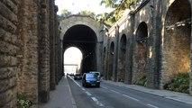 Street art dans le tunnel du Mans