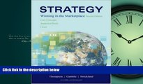 Choose Book Strategy: Winning in the Marketplace: Core Concepts, Analytical Tools, Cases with