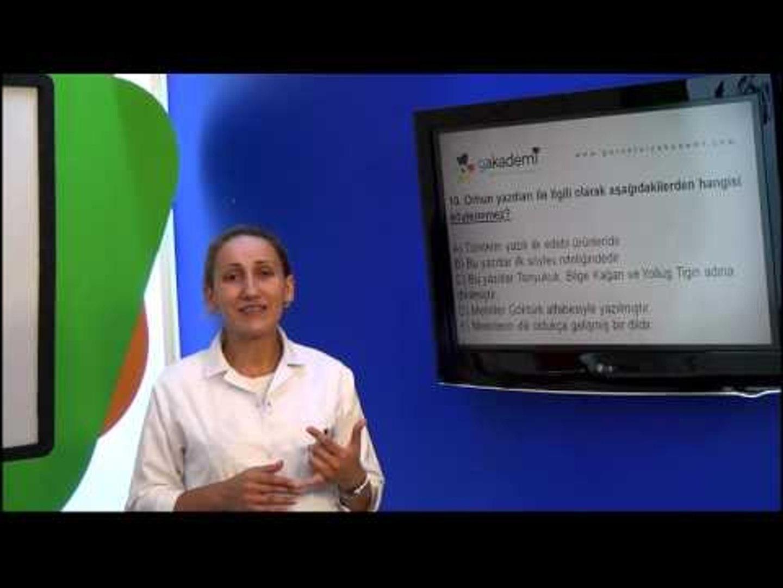 10.Sınıf Türk Edebiyatı Görüntülü Eğitim Seti (Soru Çözümleri)