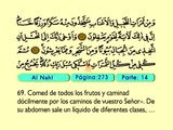20. Al Nahl 1-128 - El Sagrado Coran (Árabe)