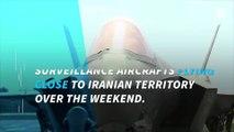 Iran threatened to shoot down US Navy spy planes near the Persian Gulf