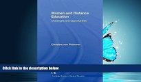 Online eBook Women and Distance Education: Challenges and Opportunities