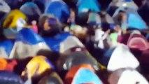 El aguacero que le cayó al campamento chavista que instaló Maduro en Margarita