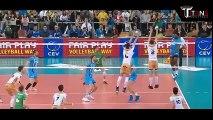 Wilfredo León 50 inch Incredible vertical jump - Cuba (Poland) Volleyball