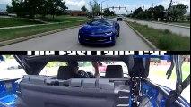 2016 Mustang GT vs Chevy Camaro SS Drag Race   Merican V8 vs V8